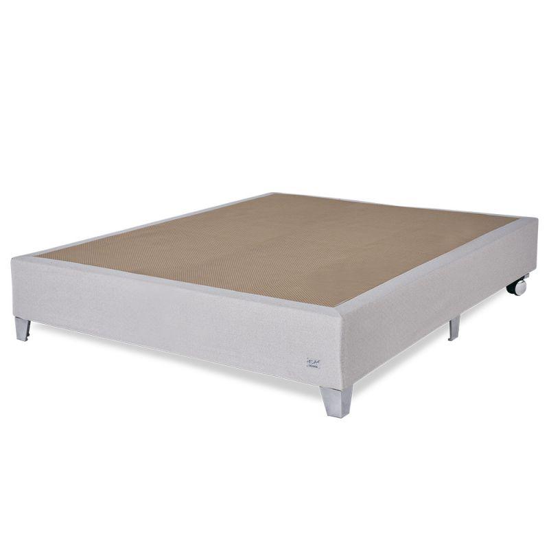 Box Para Colchão Casal bege 138x188x35cm Premium - FA Colchões