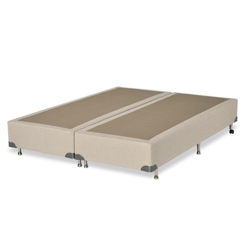 Box Para Colchão Queen 198x158x38cm Plus Bege - FA Colchões
