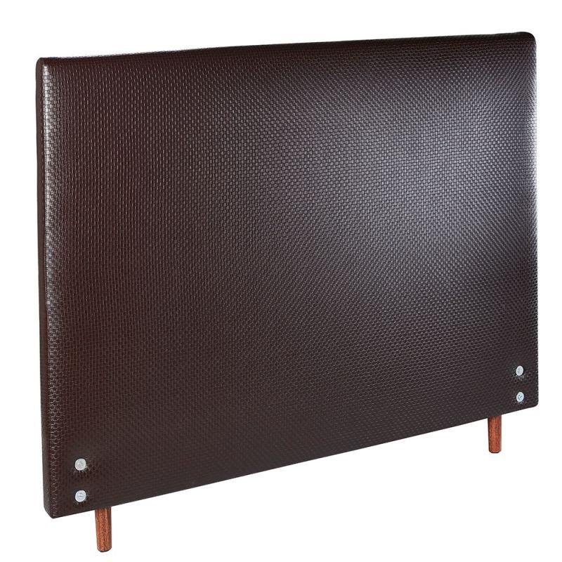 Cabeceira Estofada Trama Para Cama Box Casal 142x127cm  - FA Colchões