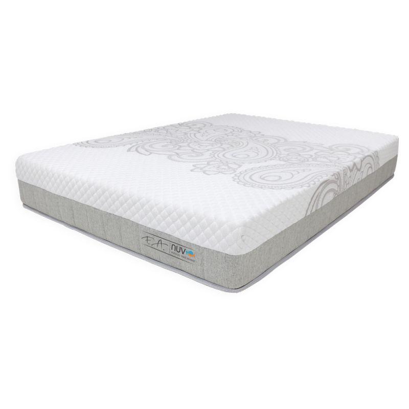 Colchão King 193x203x25cm - Espuma SoftGel Wave System Pillow Duplo NUV -  FA Colchões