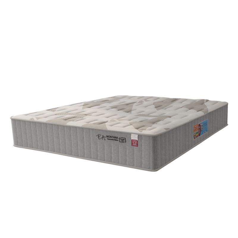 Colchão Casal 138x188x30cm Molas Superlastic em Malha Pillow Duplo Montana - F.A Colchões