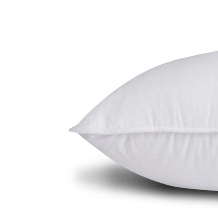 Travesseiro Conforto de Plumas Premium Fibra extra tipo Pluma de Ganso Ecológica 50x90cm - FA Colchões