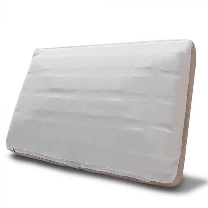 Travesseiro Anatomic com corte tridimensional com capa antialérgico 50x70cm - F.A. Colchões