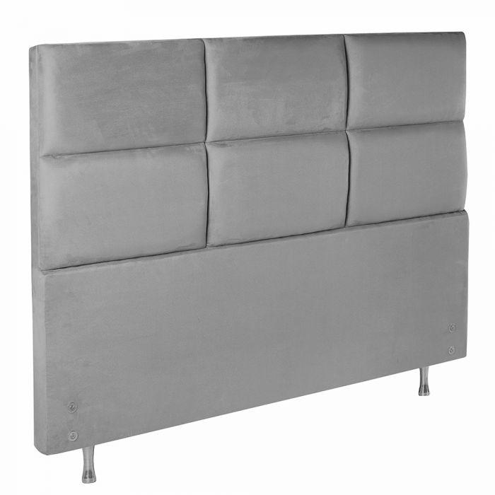 Cabeceira Estofada Para Cama Box Casal 142x127cm  - FA Colchões