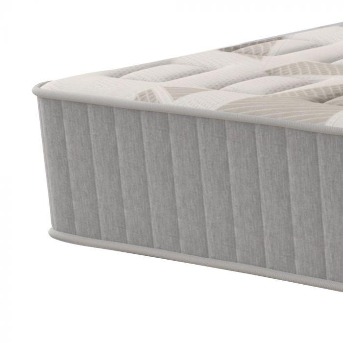 Colchão King 193x203x30cm Molas Superlastic em Malha Pillow Duplo Montana - FA Colchões