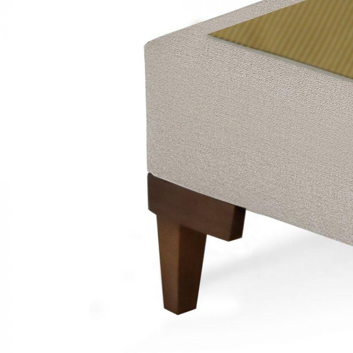 Cama Box Colchão Queen 158x198x70 Molas ensacadas com Pillow Top Freemont - FA Colchões